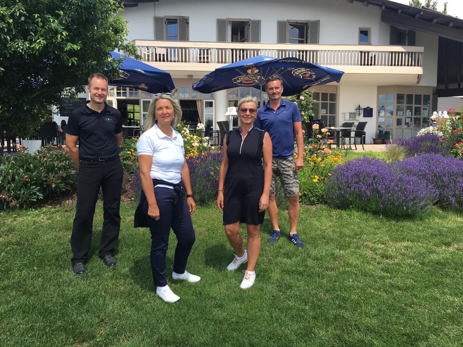 Deutscher Meister beim Golfclub Schloßberg