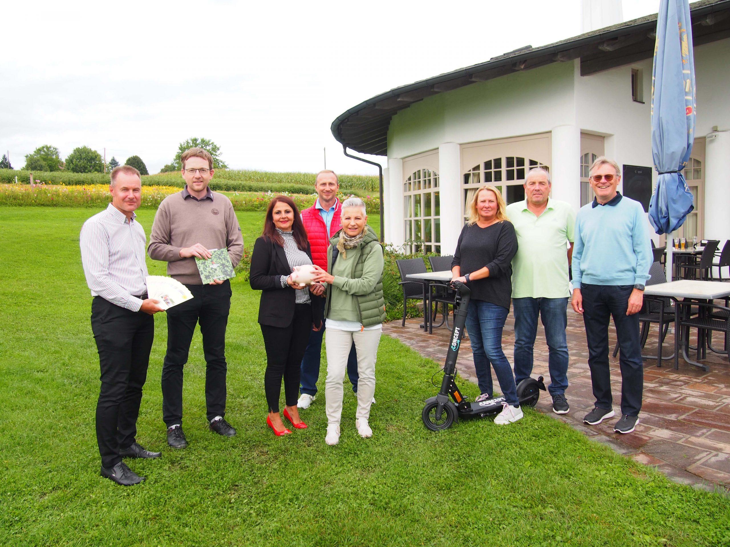 Golfclub Schloßberg am vergangenen Wochenende im Dauereinsatz