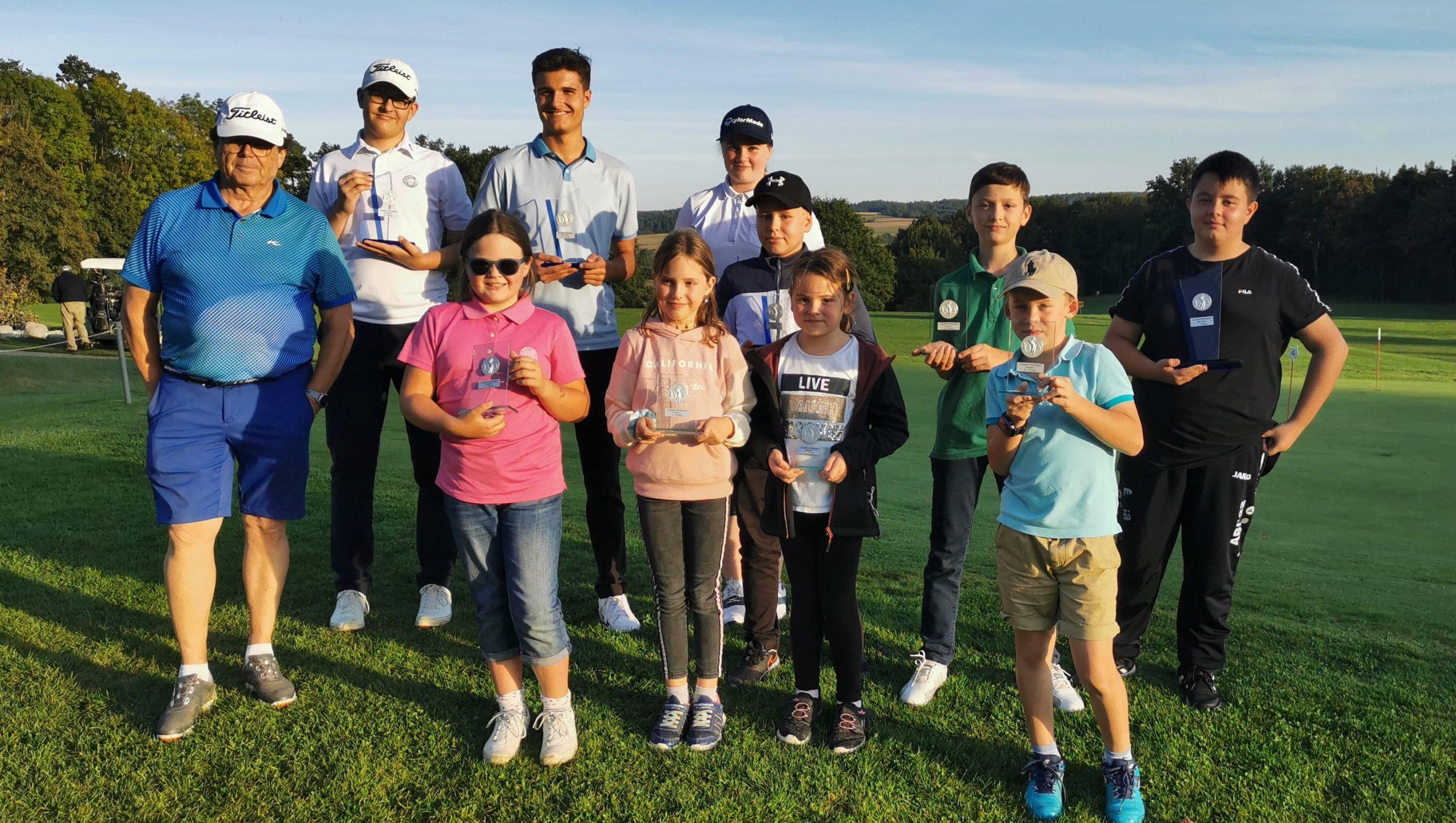 Turnier der Schloßberger Nachwuchs-Golfer